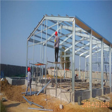 Prefab steel structure barn for cattle breeding industry