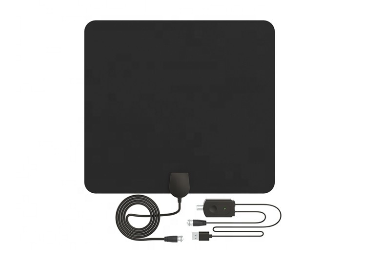 Supr thin and light weight 5V Satellite clear hd tv antenna indoor