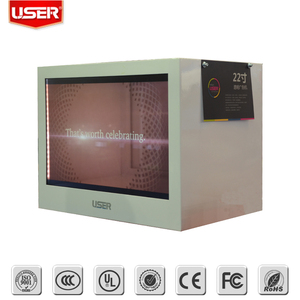 2017 new design Best selling 40 inch transparent lcd display