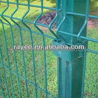 curved fencing betafence nylofor 3d panels coated border green garden wire mesh fence with v folds