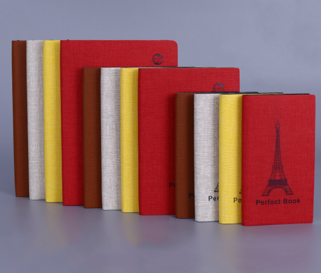 Wholesale Notebook School Office Supplies Stationery Agenda Note Book With Eiffel Tower