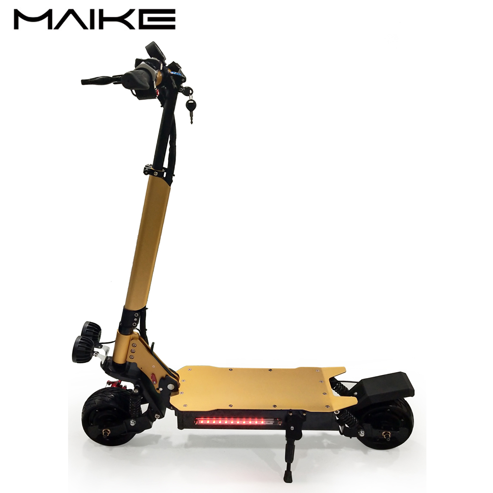 1000w*2 Street Fat Tire Electric Mobility Foldable Scooter, Black/gold/red/gray