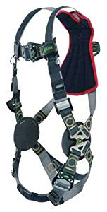Miller by Honeywell Universal Revolution Arc-Rated Full Body Style Harness With Quick Connect Chest And Leg Strap Buckle, Leather Insulators And Web Back D-Ring - 1 EA