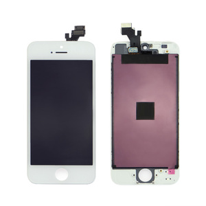 wholesale black color AAA mobile phone lcd display screen for apple iphone 5