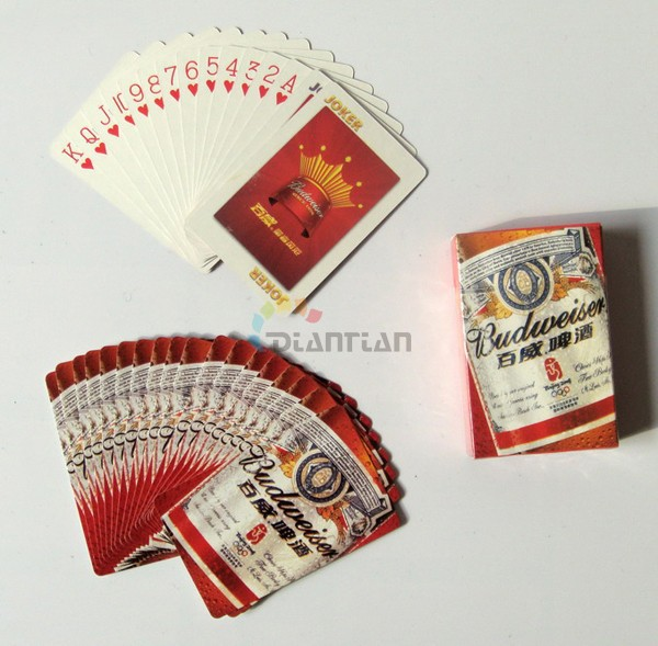 logram paper playing cards