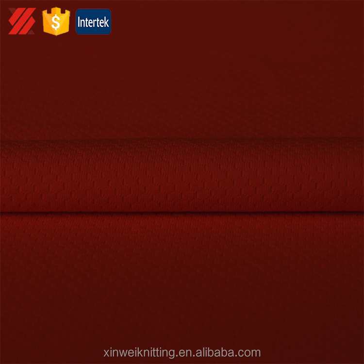 Cheap waterproof fabric 100% polyester custom dry fit fabric