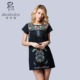 New fashion design embroidery dress women's clothing