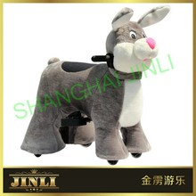 JL-S088 indoor and outdoor New rabbit walking animal car for best party kids have fun at home and party