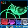 high quality 220v led RGB neon flex waterproof multi-color rgb flexible led neon tube