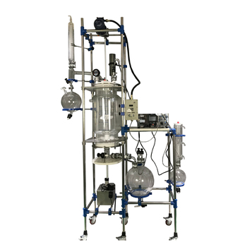 crystallization reactor equipment with filtration and lifting