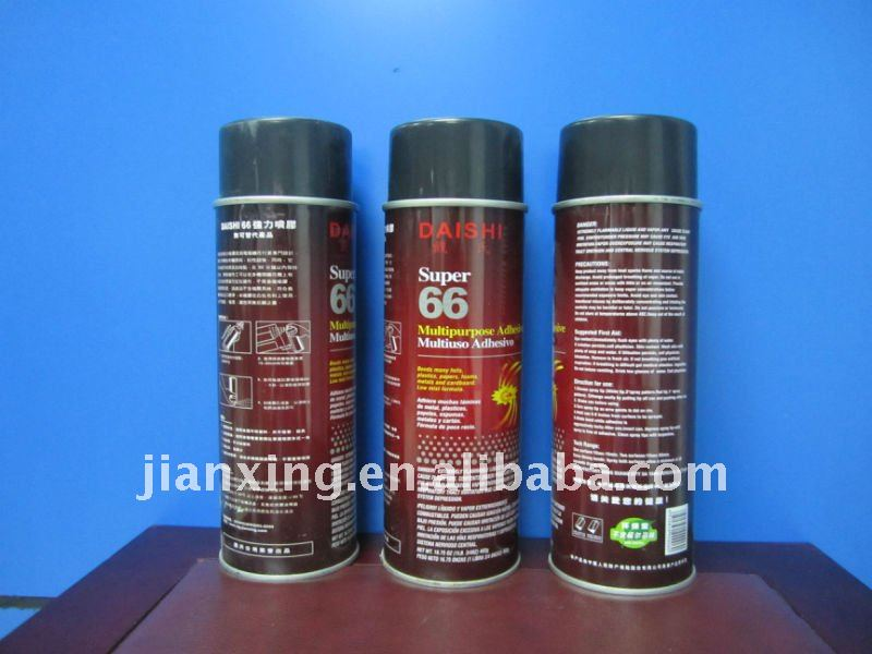 Embroidery super spray adhesive for clothing