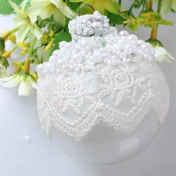 2015 China Hand Made Wholesale Christmas Tree White Lace Edge ...