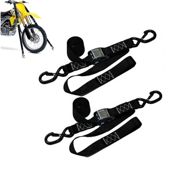 Moto Gear Soft Loops Motorcycle Heavy Duty Tie Down Straps
