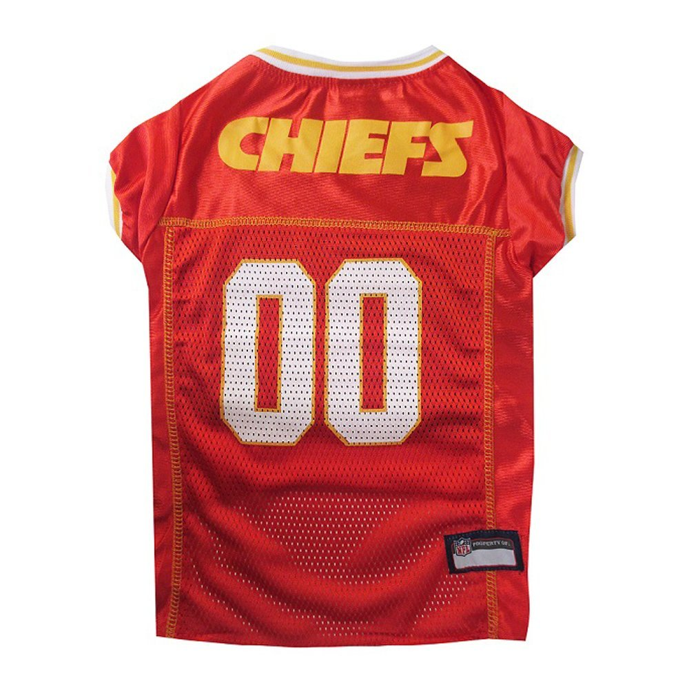 Get Quotations · Pets First Official NFL Kansas City Chiefs Jersey Extra  Small 75aa8c165