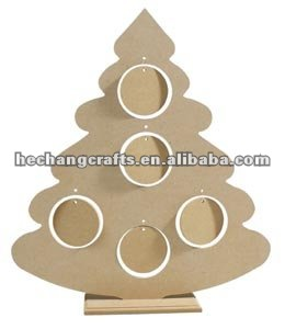 wooden christmas tree craft - Wooden Christmas Crafts