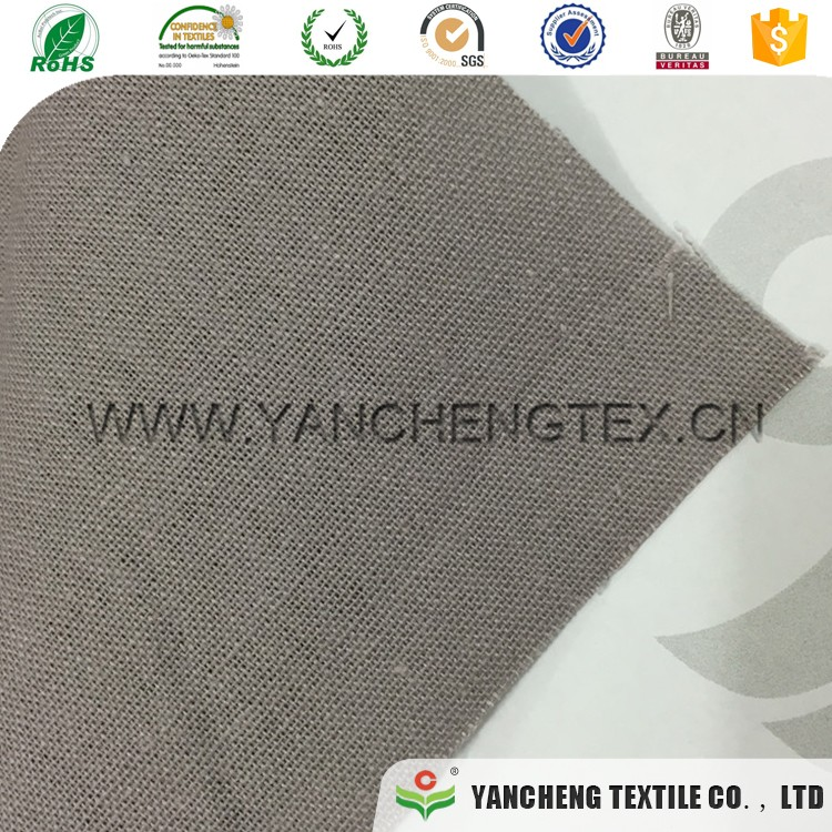 Professional manufacture cheap cotton linen fabric roll