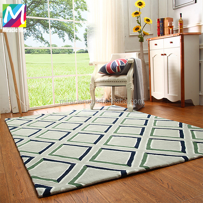 Fashionable New Style Viscose Area Rug Hotel Rooms Comfortable Silk Carpet Handmade