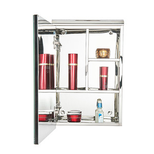 Modern stainless steel rustic bathroom mirror medicine cabinet with high quality