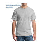 Euro Size 205g 100% Ringspun Cotton Round Neck Plain T Shirts Cheap China Wholesale Clothing