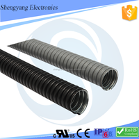 SY 4 Inch Large Diameter Corrugated Steel Pipe PVC Coated Corrugated Conduit