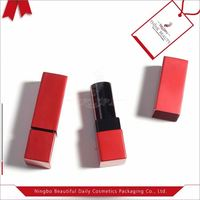 2017 new product sample lipstick container and mirror empty lipstick
