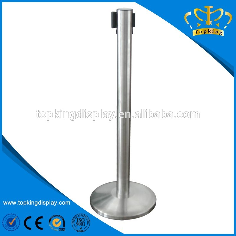 Eco-friendlyhigh quality retractable belt post stanchions
