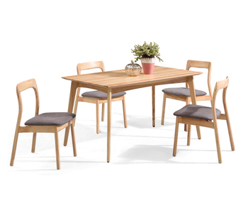 Simple Style Wooden Dining Table And