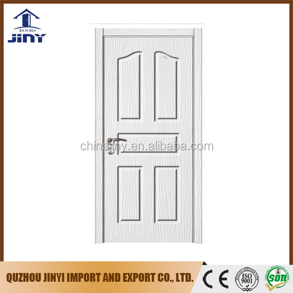 popular design bedroom door mdf interior door with pvc film
