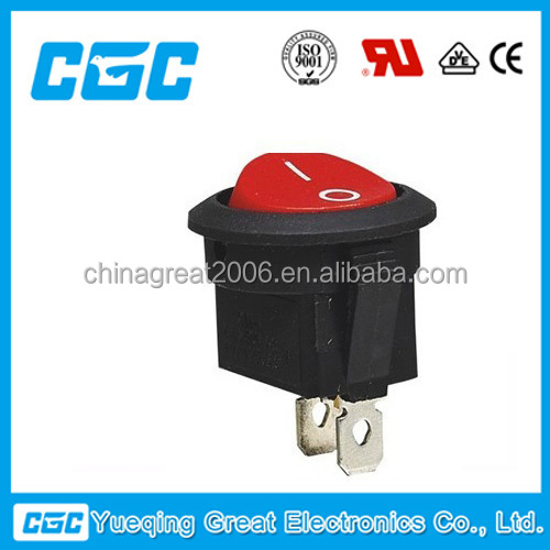 CGC10A 250V KCD1-101-8 led light rocker switch