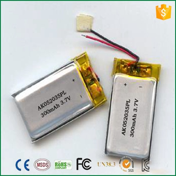 Lipo Battery 3.7v 400mah 602530 3.7v 400mah Li-ion Battery