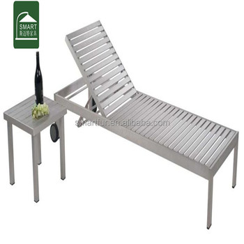 Admirable Brushed Anodizing Outdoor Poly Wood Sun Lounger Buy Chaise Lounge Plastic Sun Lounger Lounge Chair Product On Alibaba Com Short Links Chair Design For Home Short Linksinfo