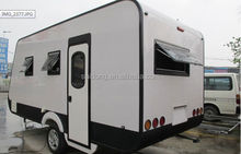 OEM or Customized Fiberglass Aluminum RV Camping Trailer /Enclosed Travel Trailer with Enough Experience