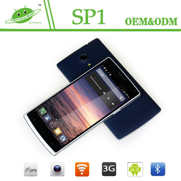 Good quality 5.5 inch MTK6582 Quad core Android 4.4 omes mobile phone dual sim card
