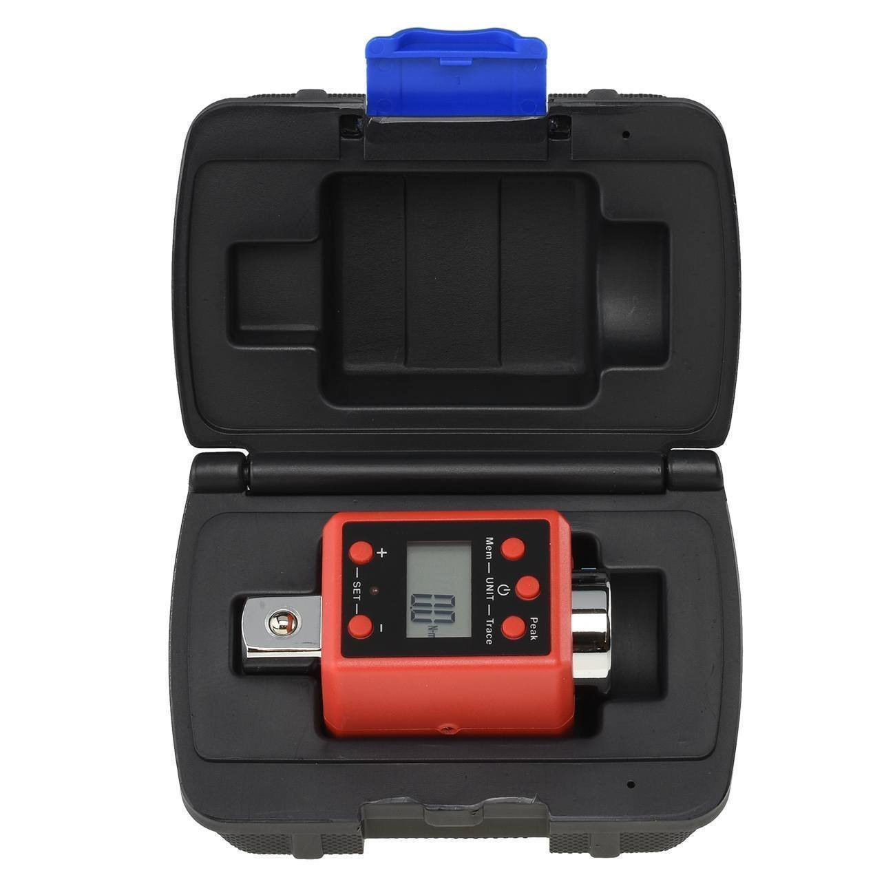 "ESKALEX>>Digital Torque Adapters 3/8"" inch Drive Socket Multi Setting Digital Torque Adapter 3/8"" Range:27-135 N-m (14.7-99.6 ft./lb.) Accuracy: 2% Memory:50 Target value setting: Peak"