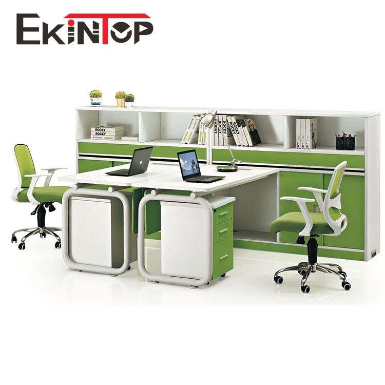 Commercial office furniture office 2 person workstation partition iso9001 curved
