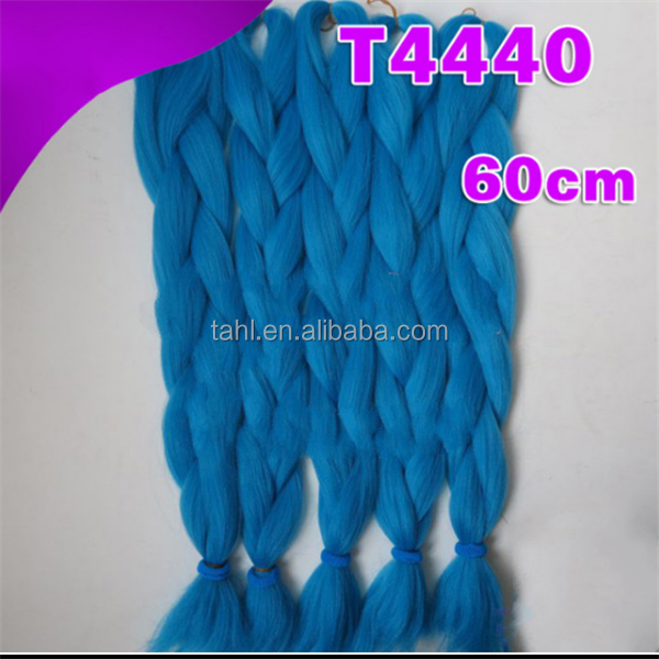 Gold Supplier of Freetress Bulk Hair Extension Top Rated Synthetic Ombre Jumbo Braid Hair High Temperature Synthetic Hair
