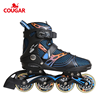 China new design professional adults 4 wheel 80mm fitness skates shoes