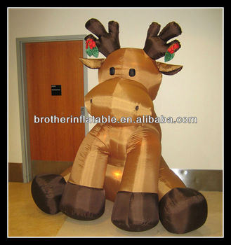 christmas decoration sale outdoor inflatable moose