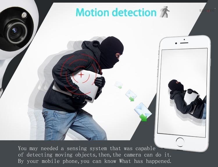 HD 1080P Wireless Baby Monitor Two-way Talk Day/Night Vision IP Smart Wifi Baby Camera