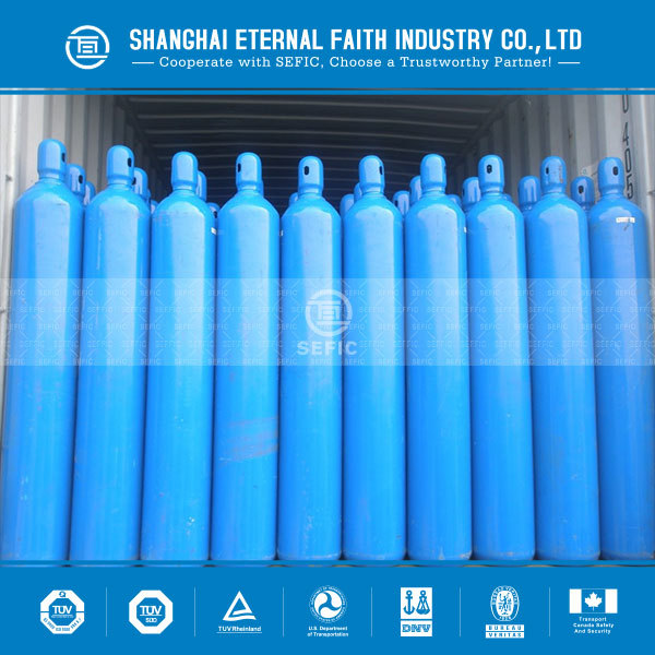 Best selling China medical oxygen cylinder filling O2 gas