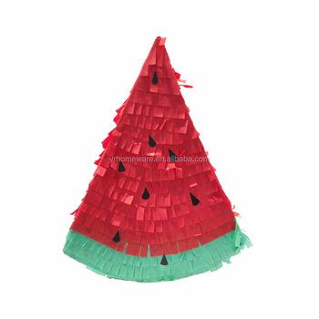 Sandía Mini Piñata Favores De Fiesta Decoraciones De Cumpleaños ... bdecbe2cdf1