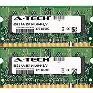 1GB STICK For Dell Latitude Series 120L 131L D120L D410 D420 D510 D520 D610 D620 D810 D820 X1 XT. SO-DIMM DDR2 NON-ECC PC2-4200 533MHz RAM Memory. Genuine A-Tech Brand.