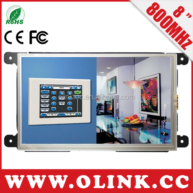7, 8 inch windows CE 6.0 Embedded panel PC in open frame design