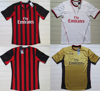 3USD Promotion 2013-14 thai quality Milan soccer jersey big sale