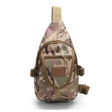 Nylon waterproof high quality sporting outdoor hiking riding travelling general tactical one shoulder chest backpack