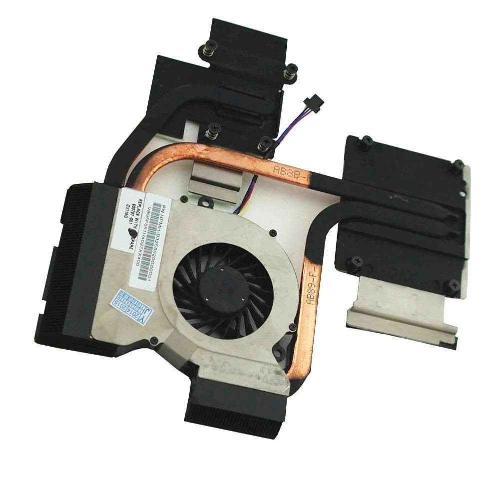 Original HP dv7-6c90us DV7-6000 dv7-6135dx CPU FAN Therma grease