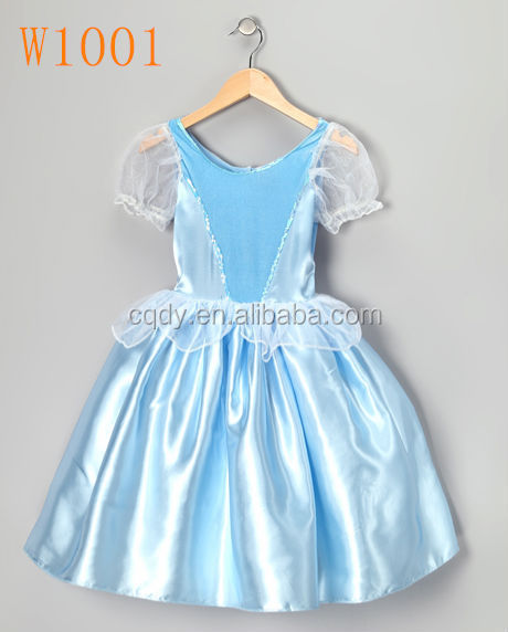 Fancy One Piece Baby Girl Party Wear Dress Baby 1 Year Old Girl Birthday Dress Design