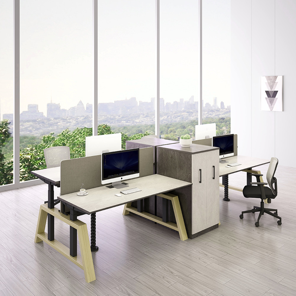 Call Center Work Station Combination Office Desk System