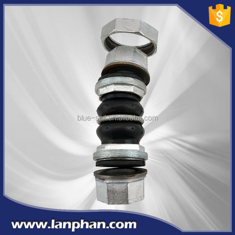 Meet ANSI , DIN, JIS Standard Rubber Expansion Joint , Flexible Rubber Pipe Coupling