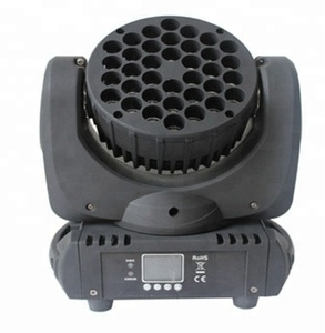 High quality RGBW 36x3w LED Moving Head Light manufacturer